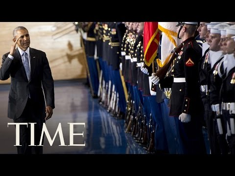 Obama Gives Farewell Address To Armed Forces | TIME