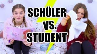 Das Leben von... SCHÜLER vs. STUDENT - Abendroutine mal anders ♡ BarbaraSofie