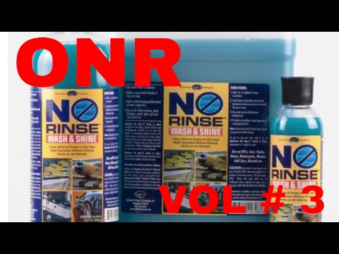 ONR Optimum No Rinse Vol # 3 (Interior cleaning and seal with Opti Seal)