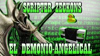 O mistério de Zeckons-o demônio Angelic [Roblox]