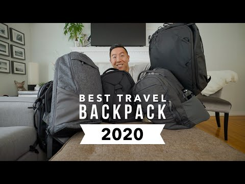 Best Travel Backpack 2020 [Peak Design Vs Aer Vs North Face Vs Arcido Vs Knack]