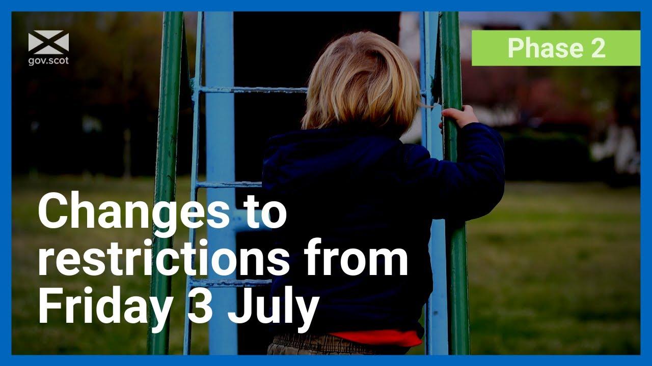 Coronavirus: 3 July restriction changes