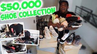 MY EPIC $50,000 SHOE COLLECTION !!! * no cap *