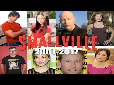 LOS ACTORES DE SMALLVILLE ANTES Y AHORA (2001-2017)