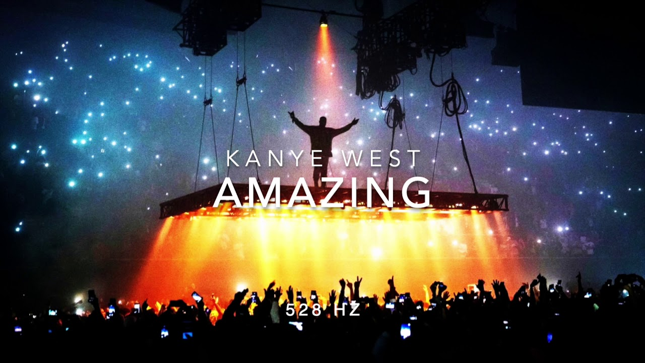 Kanye West – Amazing [528 Hz Heal DNA 🧬, Clarity & Peace of Mind]