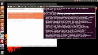 How to install and use Record My Desktop - Ubuntu 12.04
