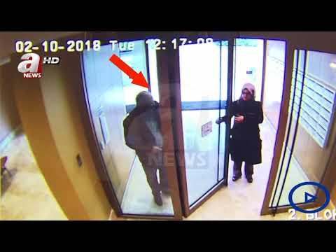 CCTV footage of Saudi Arabian journalist Jamal Khashoggi's last days