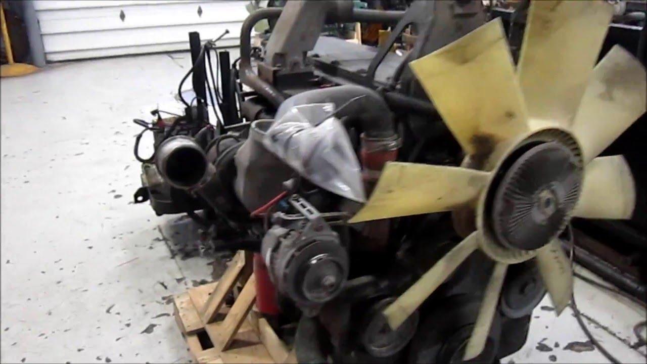 1998 Cummins M11 Celect Plus Engine Running
