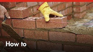 😎 How To Build A Brick Wall : Bricklaying --- How to Build a Mini House and Mini Garage Model 😎
