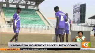 Kakamega Homeboyz unveil Muyoti new coach