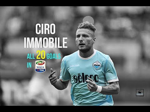 Ciro Immobile ● All 20 Goals In Serie A So Far ● 2017/18 - HD
