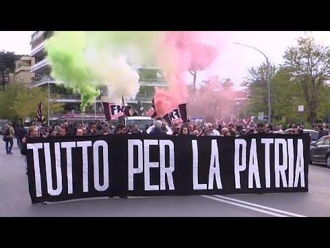 Italian neo-nazis rally over new citizenship law