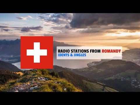 Radio Stations from Romandy (Switzerland) | Idents-Jingles Compilation • January 2021