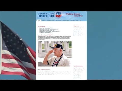 9/10/2016 -- Greater Saint Louis Veterans Honor Flight -- U.S. Veterans honored for service