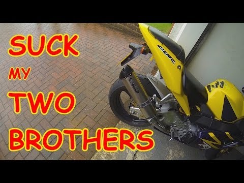 Two Bros mount the Honda 954 and I talk about Kylie