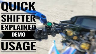 Quick Shifter on Suzuki Raider R150 Fi | BRT Racing ECU