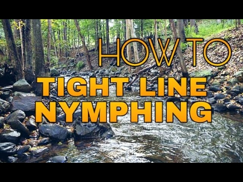 How To Tight Line Nymph - Fly Fishing 101 - Winter Trout Fishing