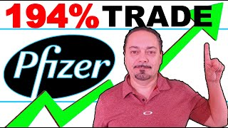 Stock Market Melt Up! How to Trade Pfizer for 194% Returns #PFE Pfizer
