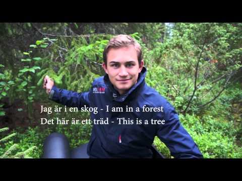Tiếng Thụy Điển bài 1 chào hỏi: thầy Erik