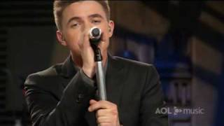Jesse McCartney - Relapse - Live Performance on AOL Sessions