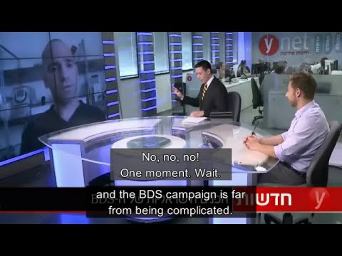 BDS activist Ronnie Barkan in an