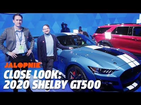 2020 Mustang Shelby GT500 Close Look   Jalopnik