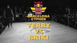 Terry VS Briki - Top16 - Red Bull BC ONE Barcelona Cypher 2015