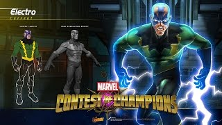 Electro Unleashed in Marvel Contest of Champions