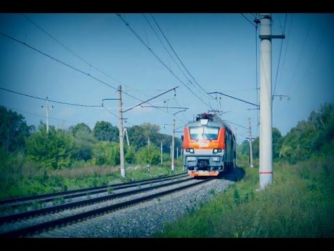 железные поезда видео