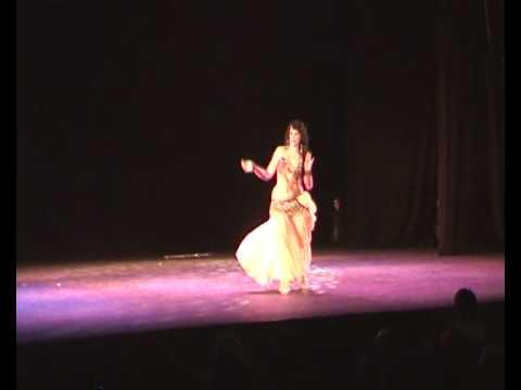 Actuación Merwa Marzo 2010-Raks baladi -danza baladi
