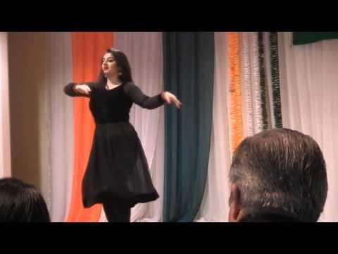 Bhartiya Samaj Auckland Simran Chadha Welcome Dance on India Independence Day 15 Aug 2015