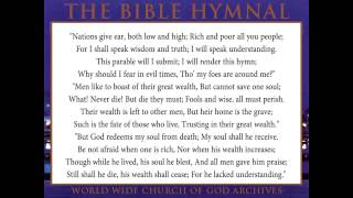 39.NATIONS GIVE EAR BOTH LOW AND HIGH-The Bible Hymnal of the Worldwide Church of God