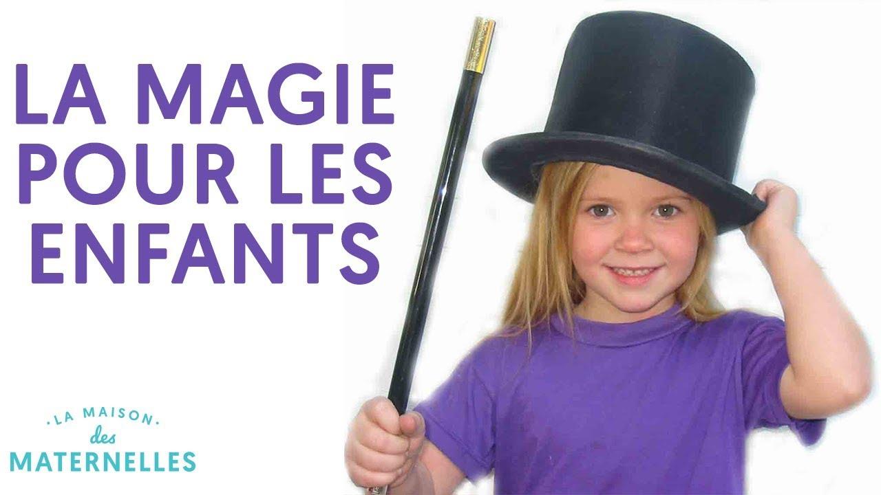 tour de magie facile pour petit