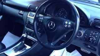 Mercedes C Class W203 Diagnostic OBD2 Port Location Video