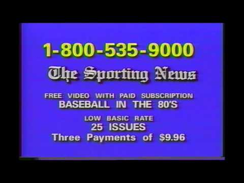 Sporting News Magazine commercial