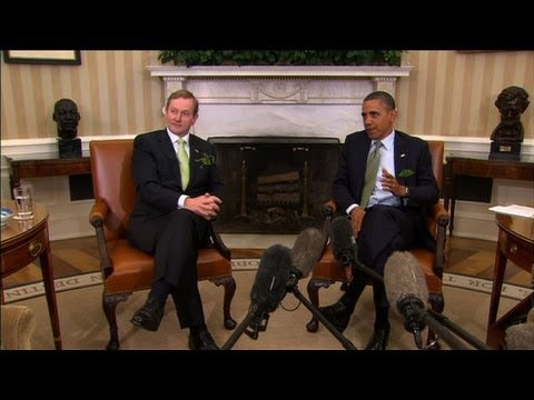 Obama, Kenny confident in Irish recovery