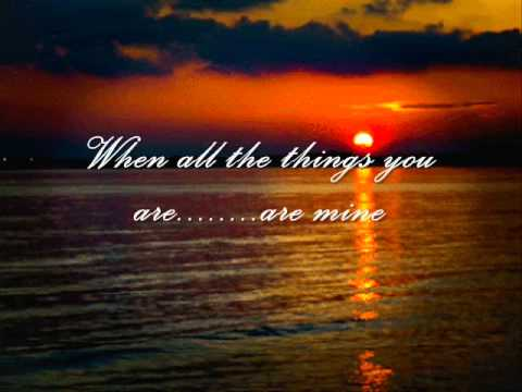 Joni James -  All The Things You Are (With Lyrics)