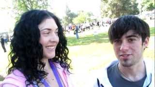 Rock Artist Kristen Faulconer with Drummer Blake Padveen at C.A.T.S. Benefit 10k Run