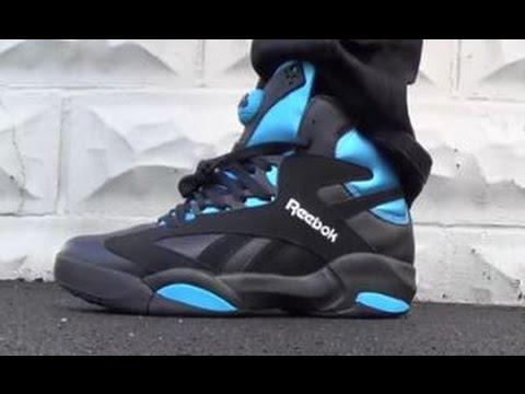 Reebok Black Shaq Attaq Pump Sneaker Review + On Feet With  DJDelz a57436007