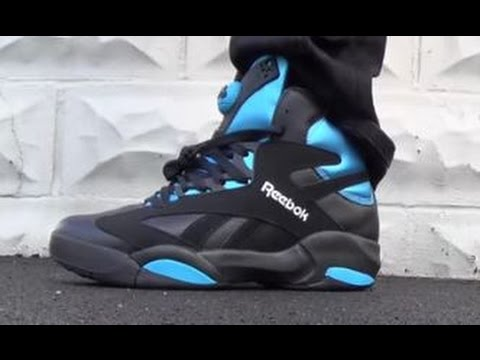 6a0a8baf8fe2 Reebok Black Shaq Attaq Pump Sneaker Review + On Feet With  DJDelz ...