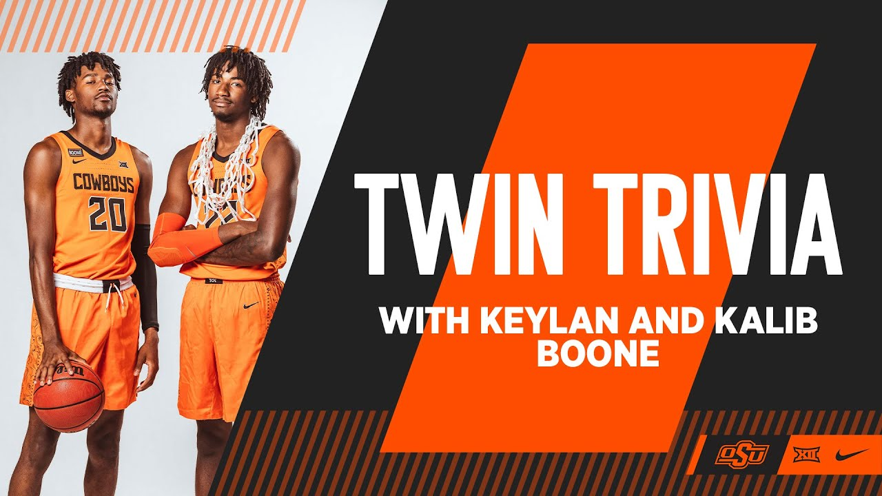 Twin Trivia With Keylan and Kalib Boone