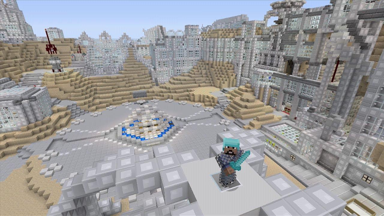 Minecraft (Xbox 360) - Mars Base - Hunger Games - YouTube