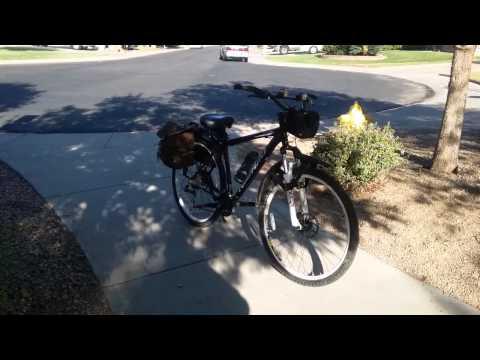 Nishiki mountain bike barnstorms the paradise earth