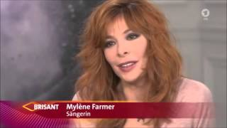 "Mylène Farmer & Sting ""Stolen Car"" Interview allemand BRISANT (ARD) rare"