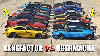 GTA 5 ONLINE - BENEFACTOR VS UBERMACHT (WHICH IS FASTEST?)