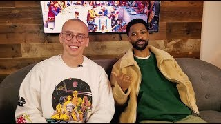 Logic on Power of Positivity & Visualization, Talks 1-800-273-8255, Haters, + Big Sean Surprise