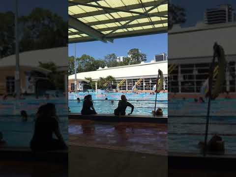 Whitlam Leisure Centre, Liverpool | outdoor pool | Sydney | Australia | TindiGola