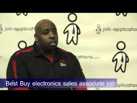 Best Buy Interview - Electronics Sales Associate