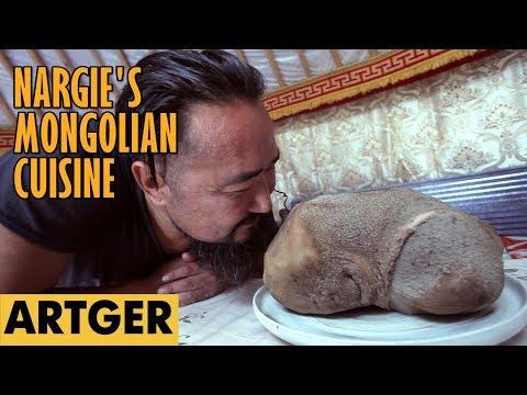 Nargie's Mongolian Cuisine: TRIPE BBQ - GUZEENII KHORKHOG (Mongolian Hot-Stone Method) S1/E15