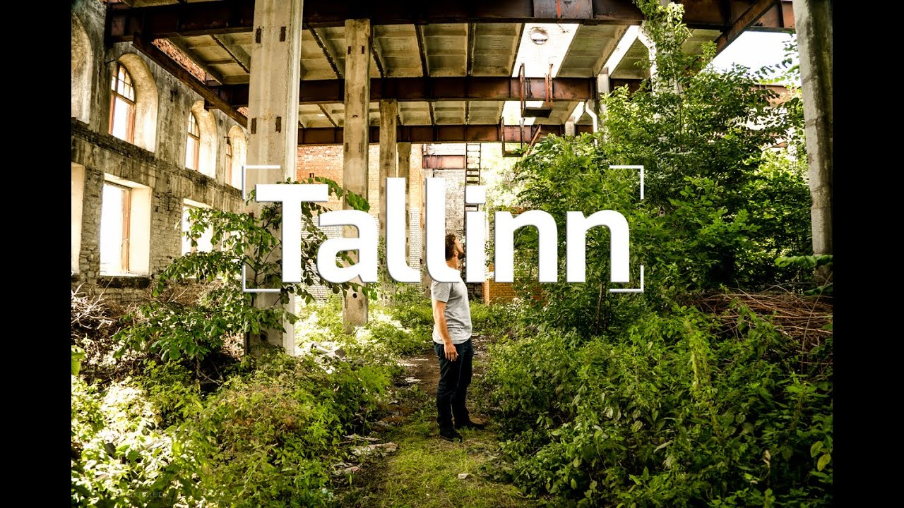 Crazy ABANDONED Factory In TALLINN, ESTONIA